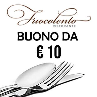 Buono spesa 10 €